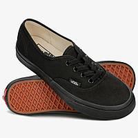 Кеды Vans Authentic Off the Wall черные (низкие) 40.5