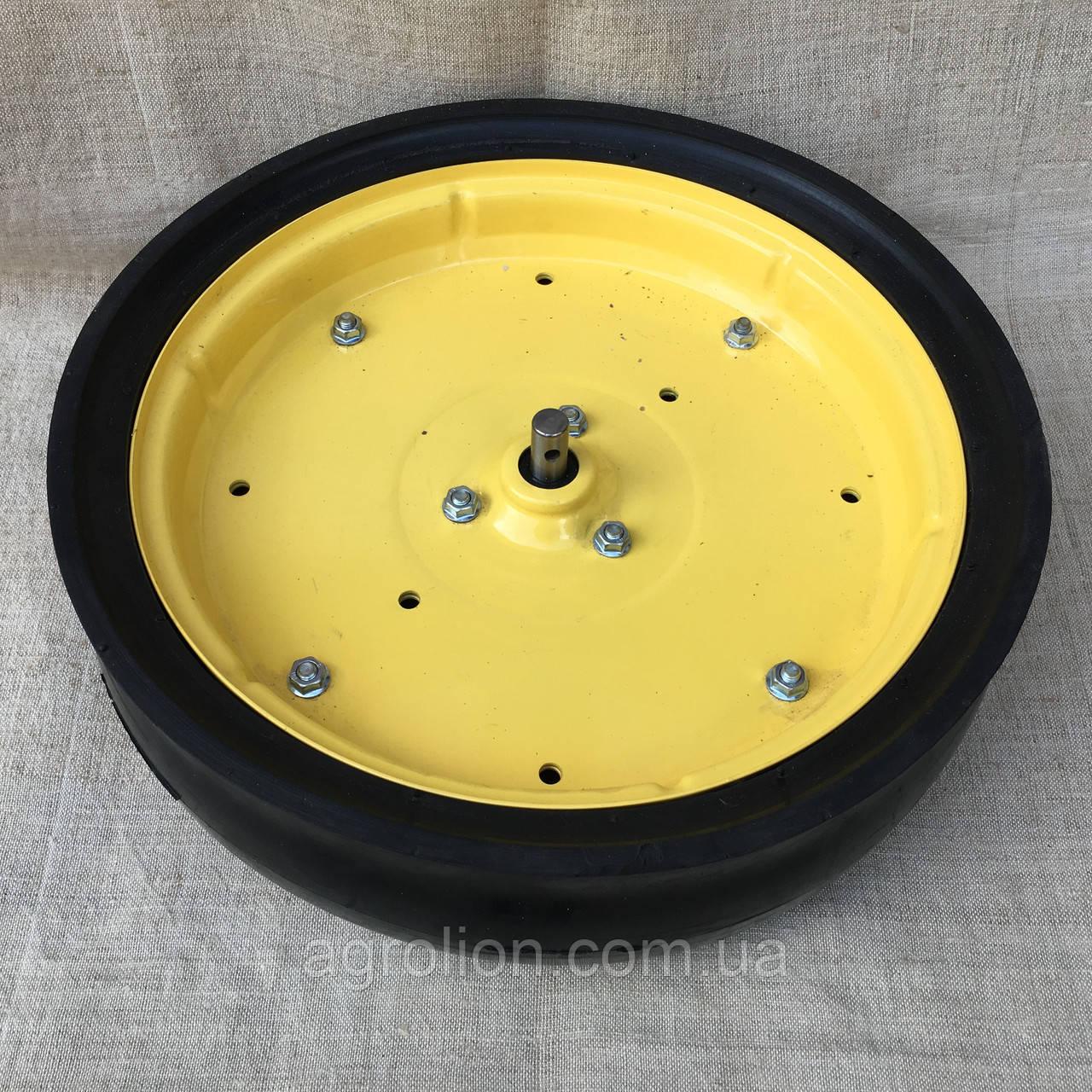"""Колесо опорне в зборі 4,5"""" x 16"""", диск  металевий з підш.F04100040"""