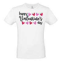 """Футболка с принтом """"Happy Valentines Day 03"""", фото 1"""