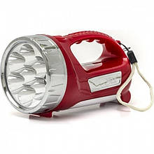 Ручной аккумуляторный фонарь YJ-2804 Красный (код: 47229 )
