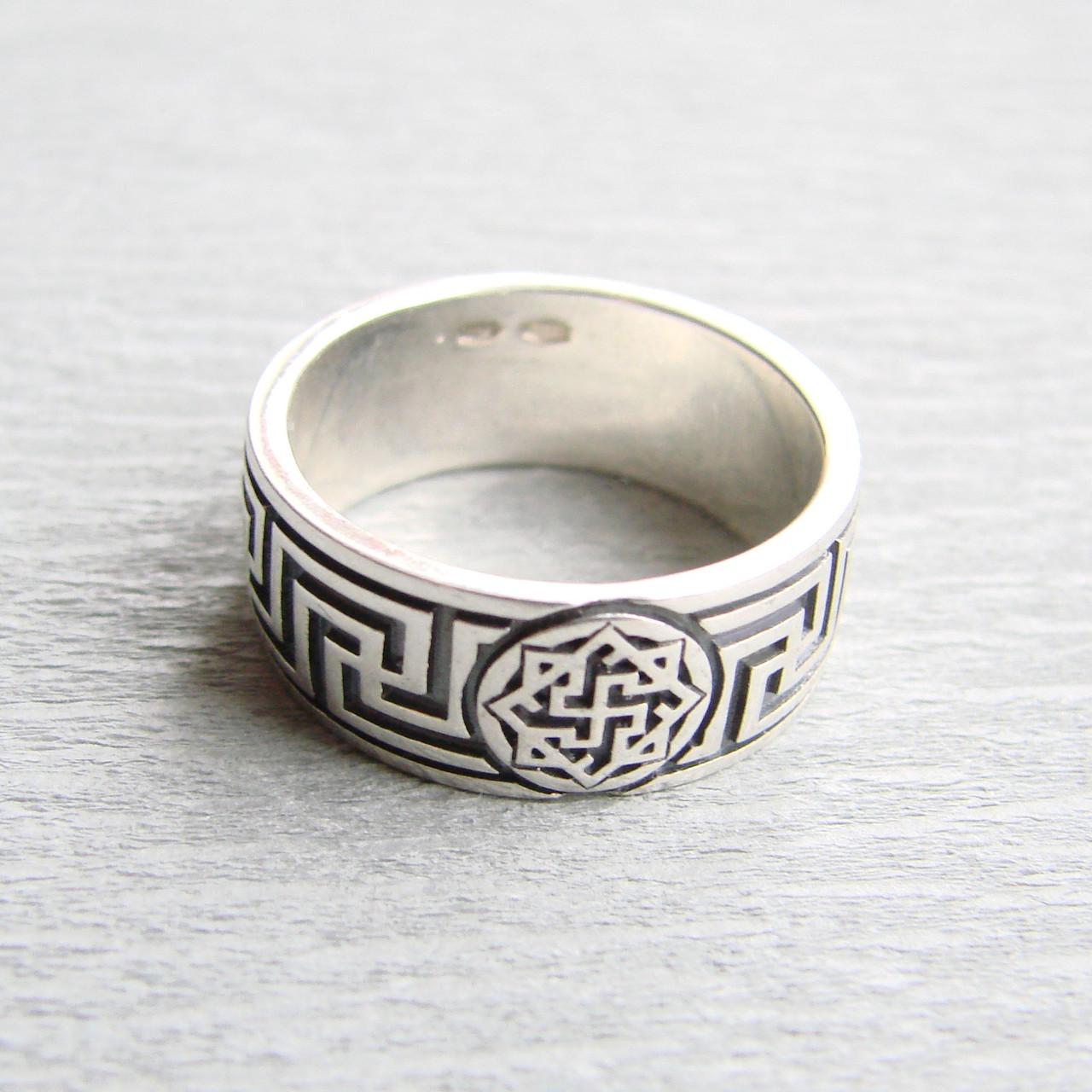 """Серебряное кольцо """"Рысич-Валькирия"""", 17 размер"""