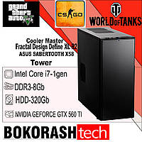 Системний Блок Fractal Design Define XL R2 \ Intel Core i7-1gen \ DDR3-8GB \ HDD-320GB (к.00100627), фото 1