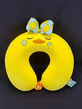 Импортная дорожняя подушка для детей