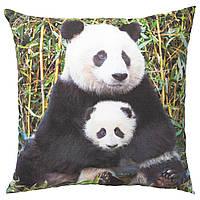 Подушка, Panda різнокольорова, 50x50 см, urskog ikea 603.939.19