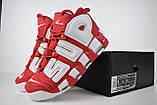 Кросівки чоловічі розпродаж АКЦІЯ 750 грн Nike Air More Uptempo 46 ( 29.5 см) копія люкс, фото 9