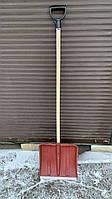 """Лопата снегоуборочная """"Лемира"""" малая 37х35 см держак деревянный"""