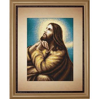 Набор для вышивания нитками Luca-S Религия Иконы Мольба Иисуса