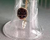 Стеклянный колокольчик с цветочным орнаментом, MURANO, Италия, фото 5