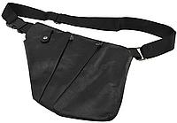 Мужская сумка слинг кобура Cross Body эко кожа Black (2228)