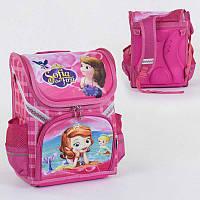 Рюкзак школьный каркасный С 36181 (50) 1 отделение, 3 кармана, спинка ортопедическая, 3D изображение