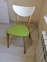 Стул МОДЕРН 616  Бук / Белый с зелёным, фото 1