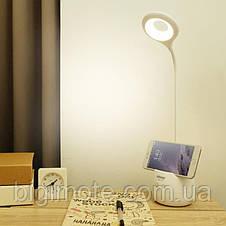 Лампа настольная,ночник micro usb, органайзер,подставка под телефон, настольная лампа кольцевая,TGX772s, фото 3