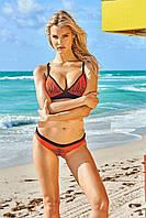 Женский раздельный красный купальник жіночий роздільний червоний купальник