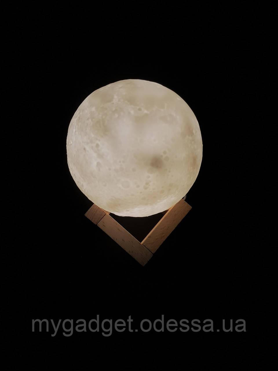 """Импортный увлажнитель воздуха """"Луна"""" 3D moon lamp light"""