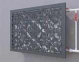 Декоративная решетка на батарею SMARTWOOD | Экран для радиатора | Накладка на батарею, фото 4