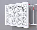 Декоративная решетка на батарею SMARTWOOD   Экран для радиатора   Накладка на батарею, фото 2