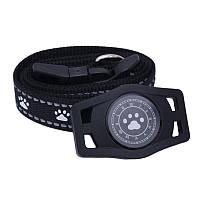 Водонепроницаемый GPS трекер для домашнего животного (кота, собаки) D40 Черный