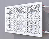 Декоративная решетка на батарею SMARTWOOD | Экран для радиатора | Накладка на батарею, фото 2