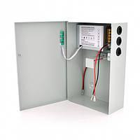 Імпульсний блок безперебійного живлення PSU-5121 12V 5А, під АКБ 12V 7-9A + 18-20А, Metal Box