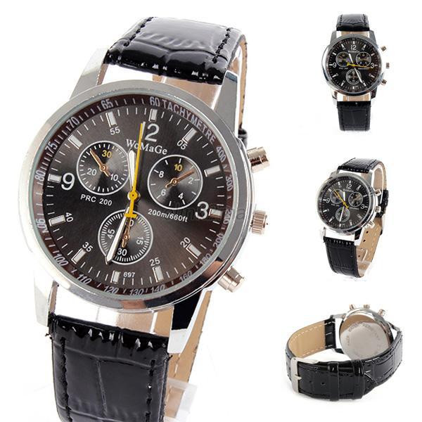 Часы мужские WoMaGe PRC Black