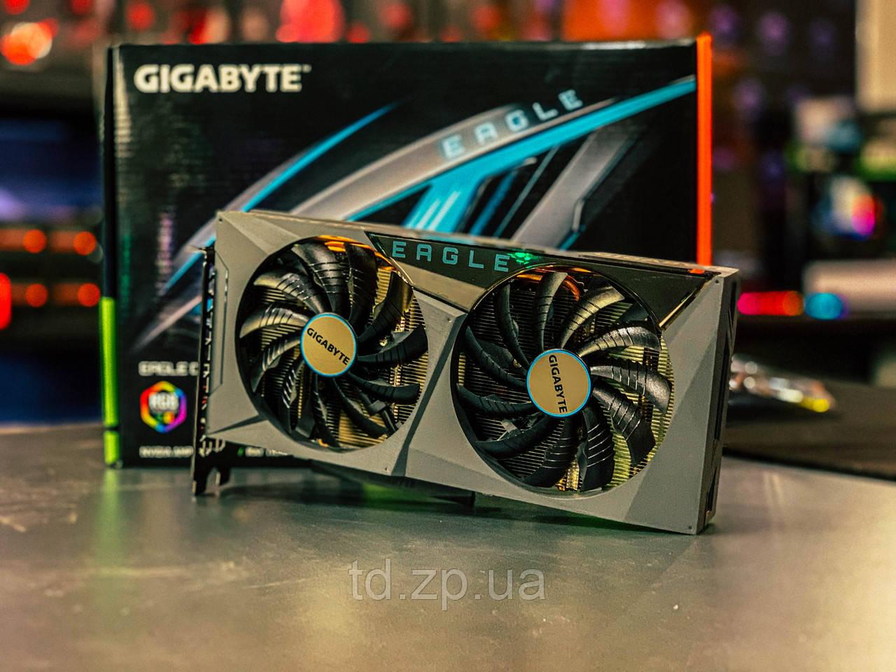 Видеокарта GIGABYTE GeForce RTX 3060 Ti EAGLE OC 8G