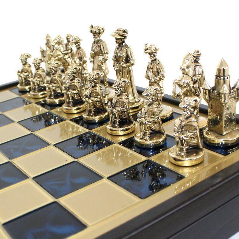 """Шахматы """"Мушкетеры""""  Manopoulos 40 x 40 см"""