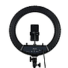 Профессиональная кольцевая лампа 45 см HQ18 (без штатива)