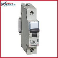 Автоматический выключатель Legrand TX3 10А 1п С 6кА