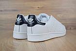 Кроссовки мужские распродажа АКЦИЯ 650 грн Adidas Stan Smith 44й(28см) последние размеры люкс копия, фото 4