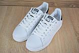 Кроссовки мужские распродажа АКЦИЯ 650 грн Adidas Stan Smith 44й(28см) последние размеры люкс копия, фото 7