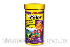 Корм сухой для рыб JBL NovoColor 100 мл хлопья для улучшения окраса
