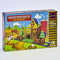 Конструктор магнитный JH 8856 (48) Ферма, 74 детали, в коробке