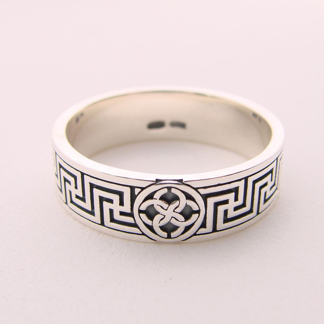 """Серебряное кольцо """"Свадебник"""", 14 размер"""
