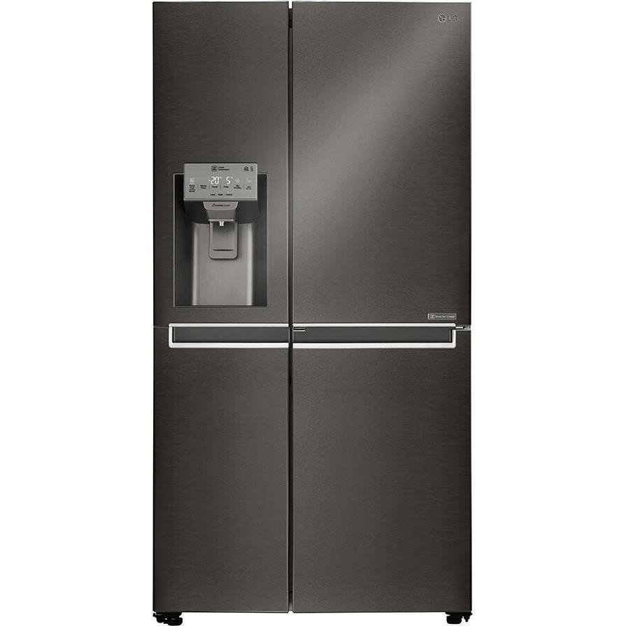 Холодильник с морозильной камерой LG GSJ761MCUZ