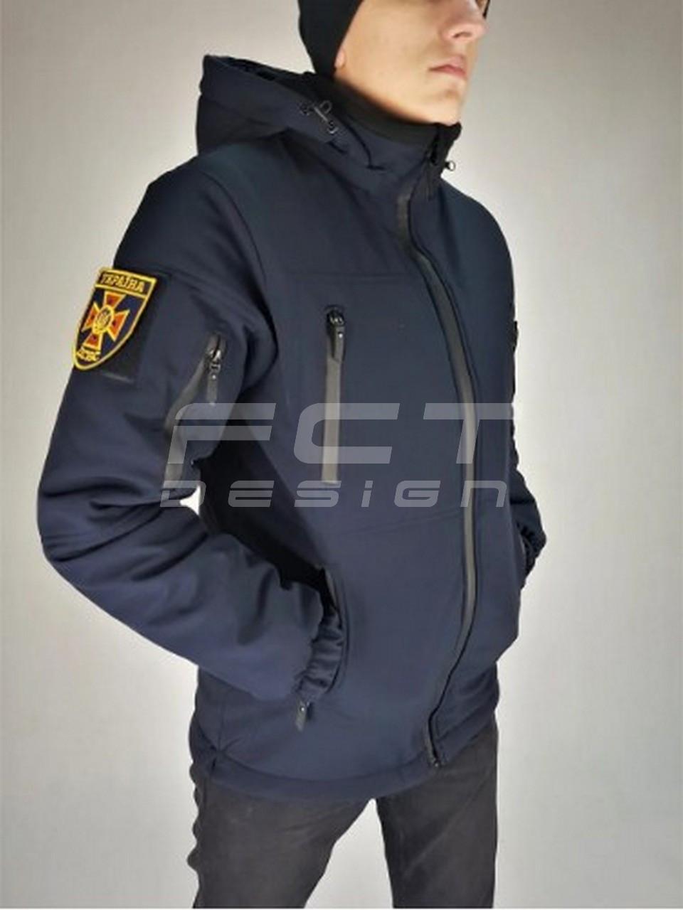 Бушлат, куртка Софтшелл зимний для ДСНС/МЧС