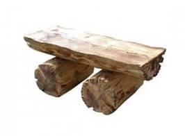 Лавка из дерева