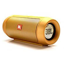 Беспроводная портативная Bluetooth колонка JBL Charge 2+ с защитой от влаги и пыли yellow