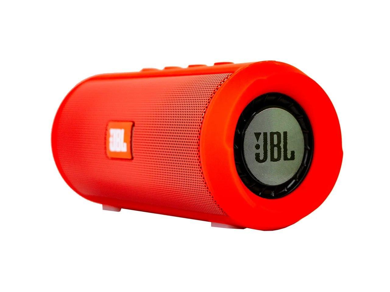Беспроводная портативная Bluetooth колонка JBL Charge 2+ с защитой от влаги и пыли red