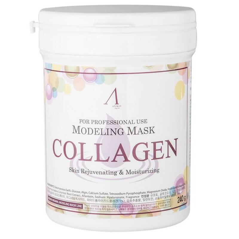 Альгинатная маска укрепляющая с коллагеном Anskin Modeling Mask Collagen, 240 г