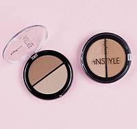 Хайлайтер и контур для макияжа TopFace Contour & Highlighter Instyle