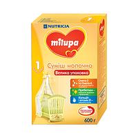 Молочна суміш Milupa 1, 0+, 600г