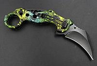 Складной нож Керамбит для туризма и самообороны, охота и рыбалка, в ассортименте.