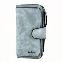Женский кошелек клатч портмоне Baellerry Forever N2345 голубой 46683