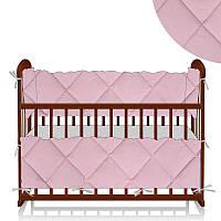 Защита в кроватку Комфорт ЗД-4 30494 - цвет персиковый ТМ Беби-Текс