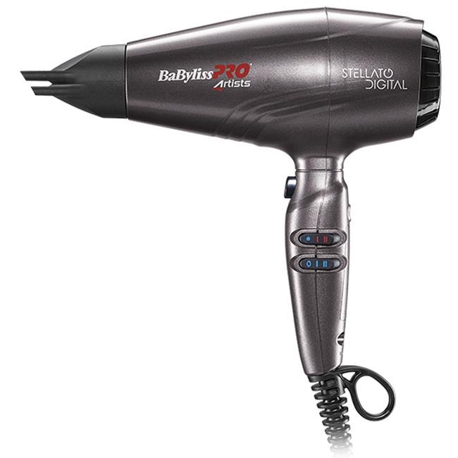 Професійний фен для волосся BaByliss PRO STELLATO DIGITAL BAB7500IE