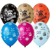 Воздушный шар 30 см СДР Пират 1103-2227