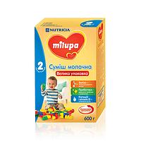 Молочна суміш Milupa 2, 6+, 600г