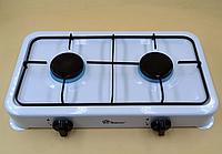 Плита газовая Domotec MS-6662 на 2 конфорки настольная