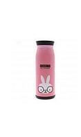 Детский термос-поилка с ремешком Stenson MT-2089 Rabbit кролик 500 мл, емкость для сохранения тепла жидкости.