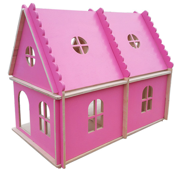 Будиночок HEGA рожевий для лол 2х поверховий
